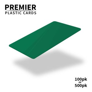 Premier Green Plastic Cards