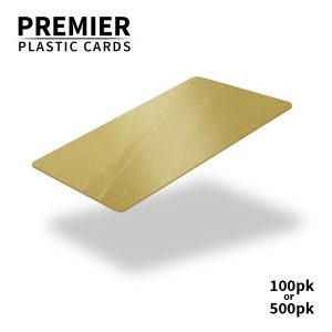 Premier Gold Plastic Cards