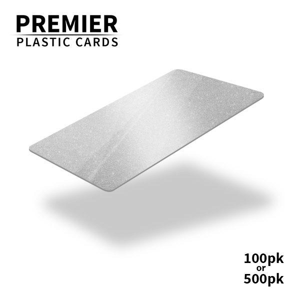 Premier Silver Plastic Cards