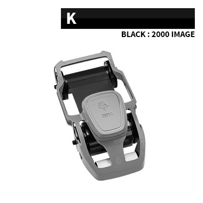 Zebra ZC100 Black Ribbon 2000