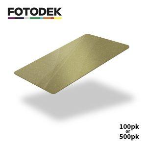 Fotodek Premium Dark Gold Cards