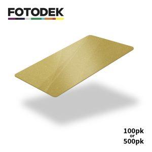 Fotodek Premium Gold Cards
