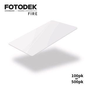 Fotodek Premium FIRE White Cards