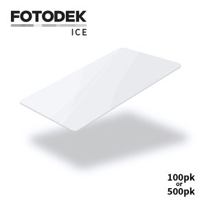 Fotodek Premium ICE White Cards