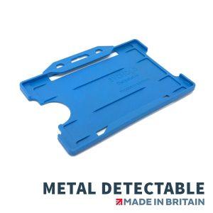 metal detectable card holder