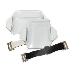 flexible arm band card holder