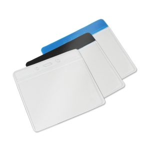 flexible visitor pass holder