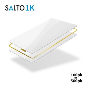 SALTO 1k Blank White Cards