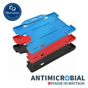 Rigid Antimicrobial Card Holder