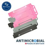 Rigid Antimicrobial Card Holder Portrait